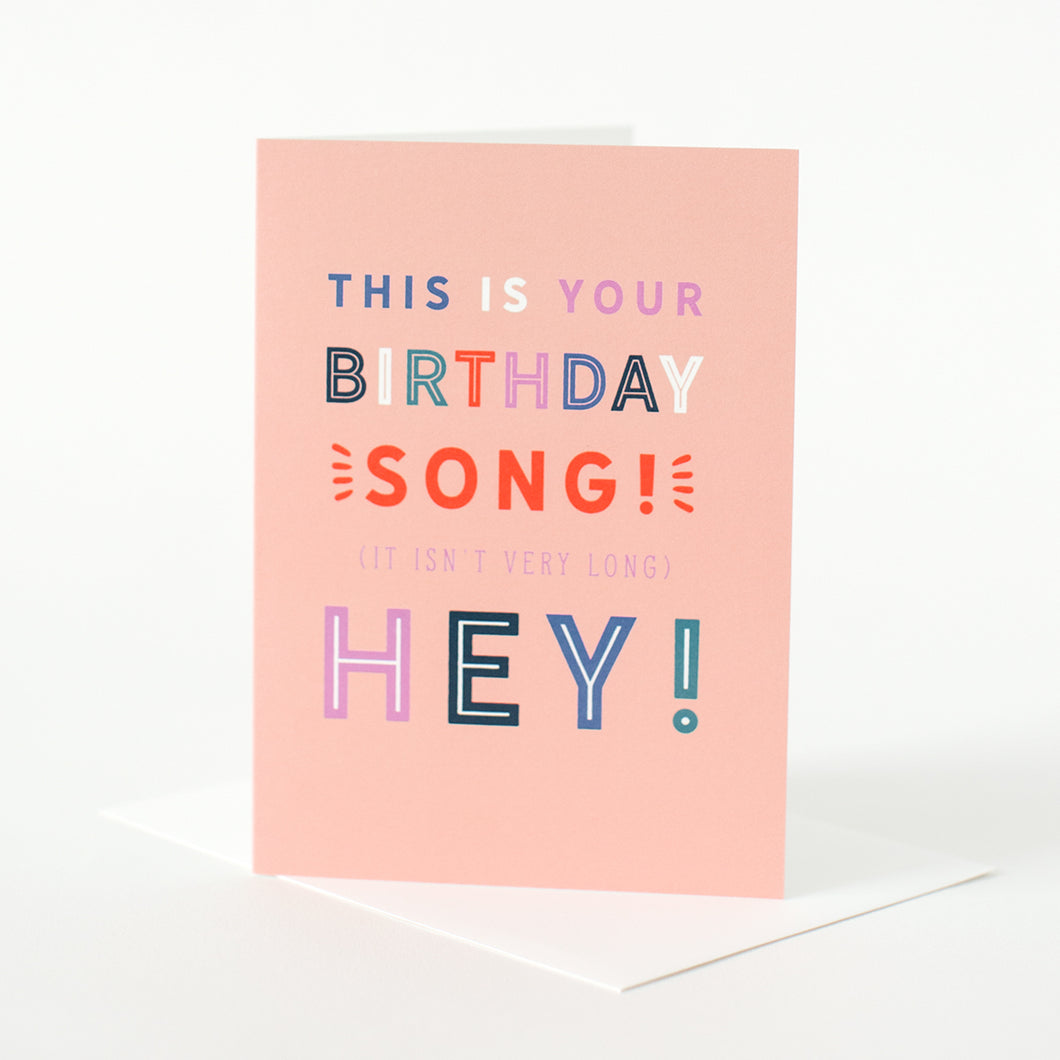 This is Your Birthday Song!