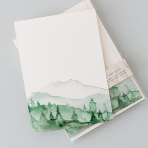 Green Mountains - Note Set
