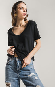 Sleek Jersey Pocket Tee
