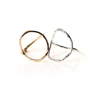 KK-Large Oval Ring