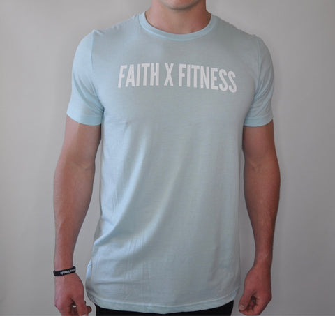 FAITH X FITNESS TEE - ICE