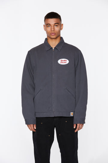 Gray Hubble Studio Work Jacket