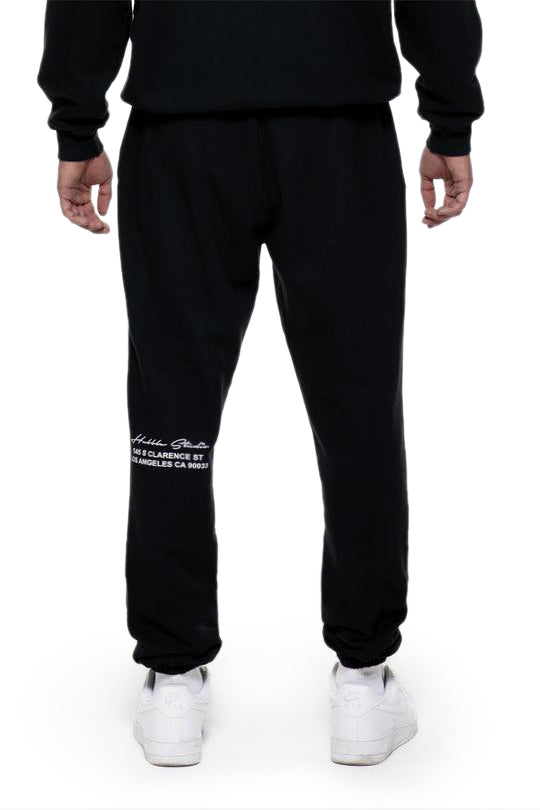 Black Hubble Studio Sweatpants