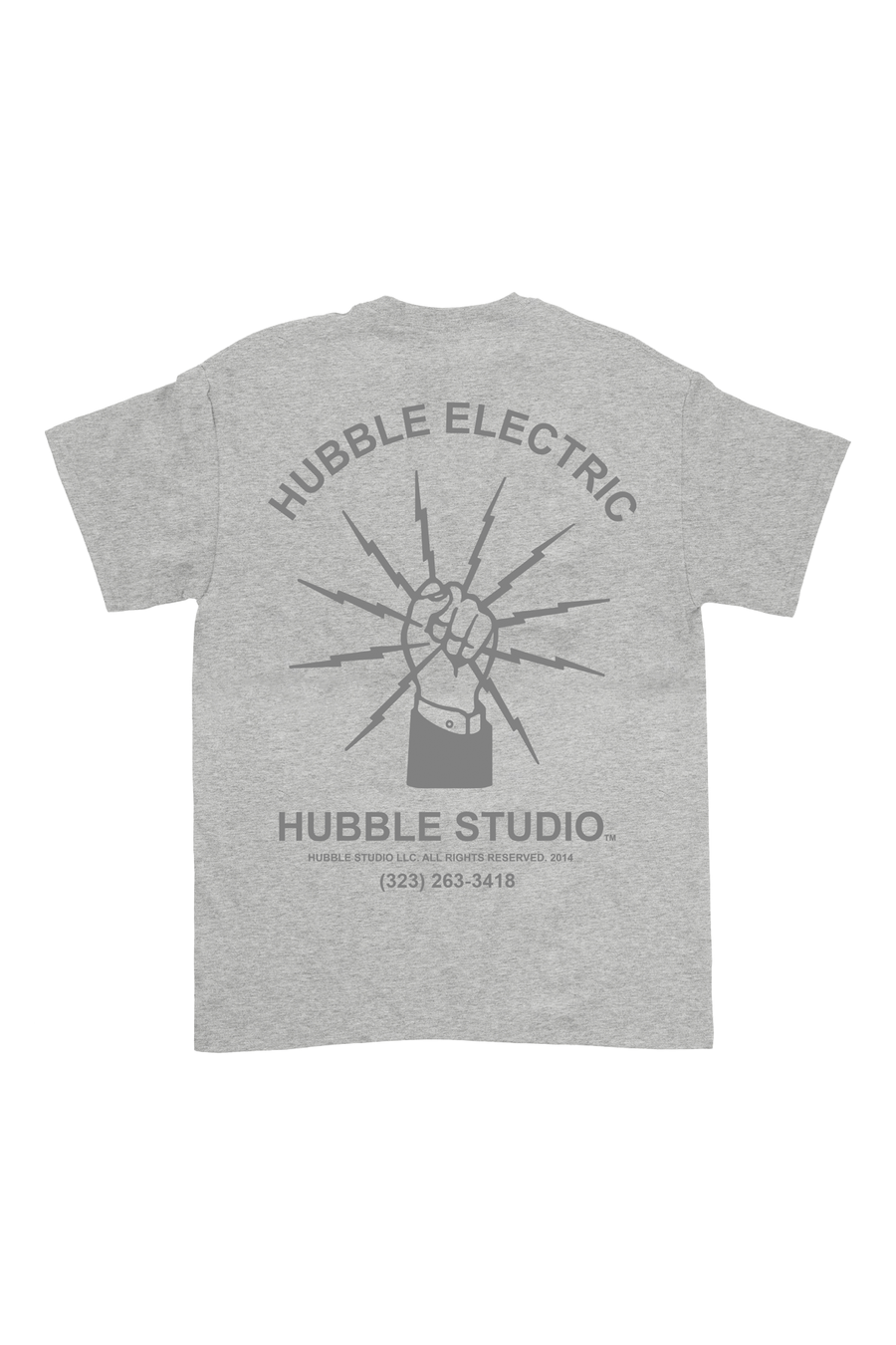 Gray Hubble Electric T-Shirt