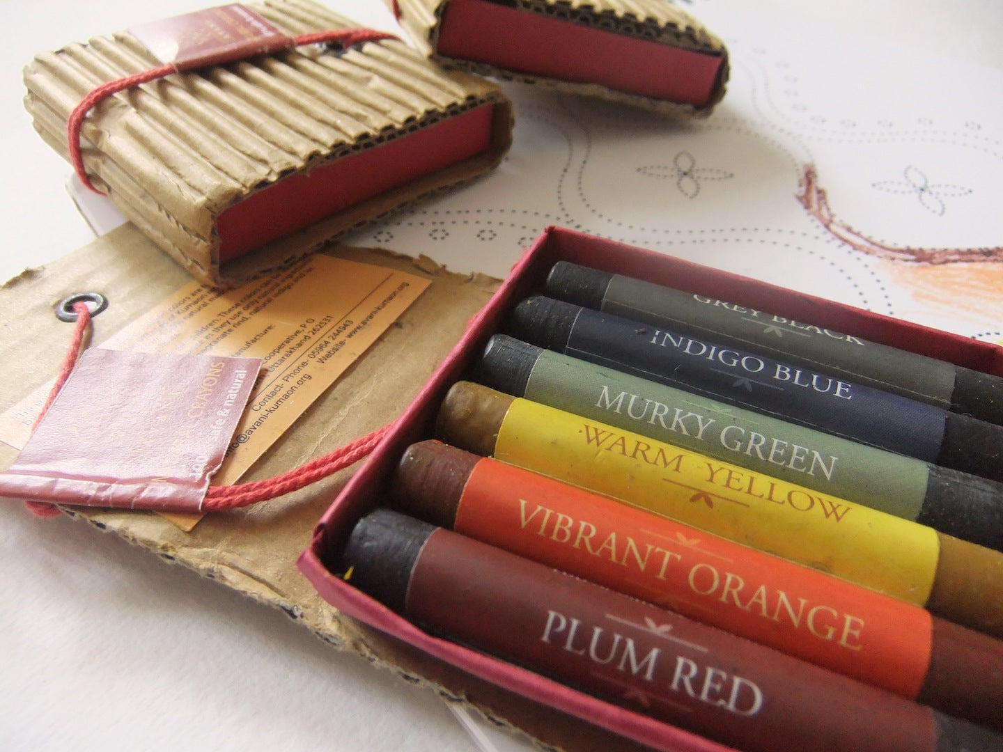 All-Natural Crayons