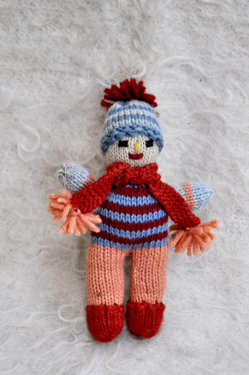 Woolen Toy: Boy with Scarf