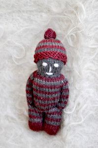 Woolen Toy: Boy with Red Hat