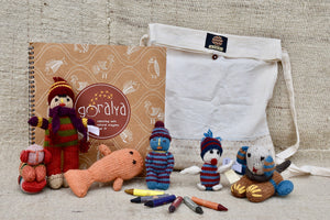 Holiday Gift Bag Set for Children