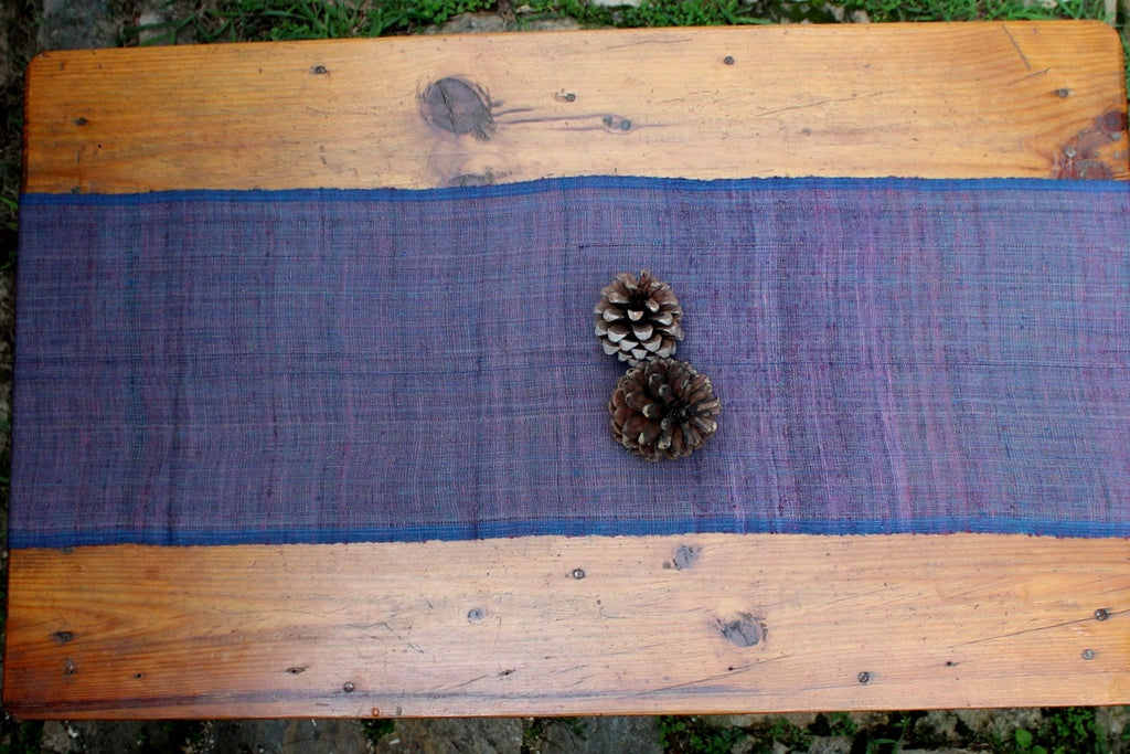 Table runner - Indigo & Lac