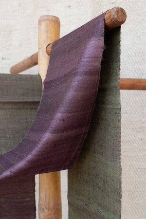 Reversible Purple and Orange Scarf SF000148