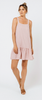 White Closet - Mallory Swing Dress (Pink Stripe)