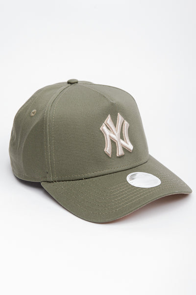 New Era - NY 9Forty A Frame (Olive)