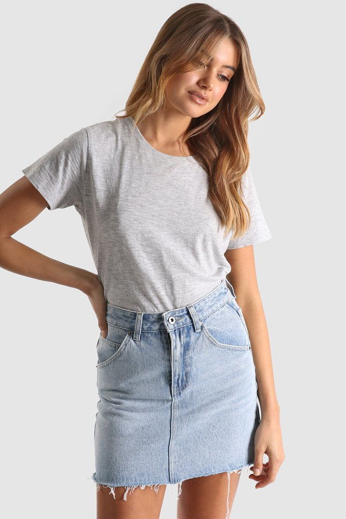 Madison Square - Jordan Denim Skirt