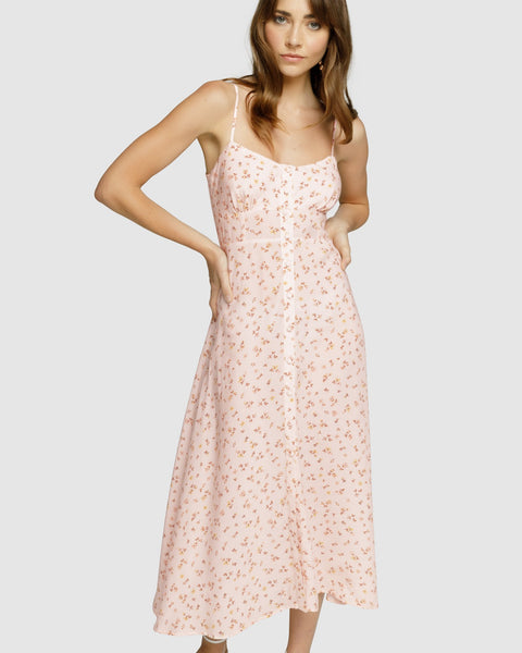 Apero - Walk In Time Midi Slip Dress