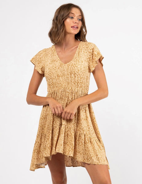 Paper Heart - Montana Dress (Gold)