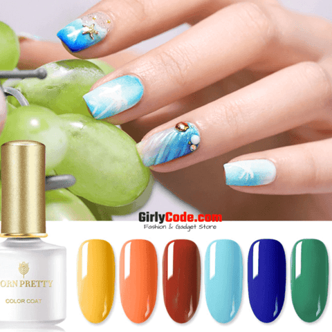 PRETTY Summer Nail Gel: The best summer nail gel online