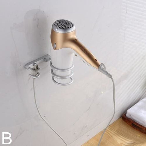 Hair Dryer Holder Wall - B