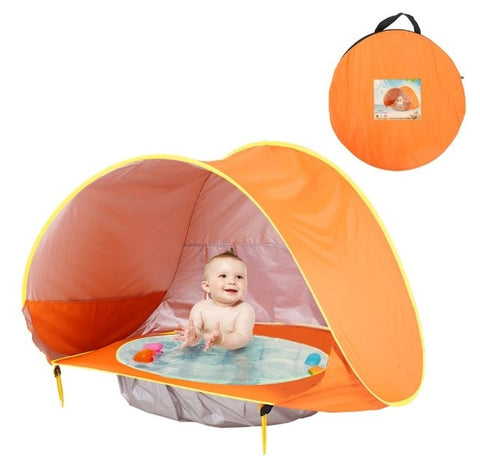 The Best Baby Beach Tent, Baby Sun Tent  at Girly Code