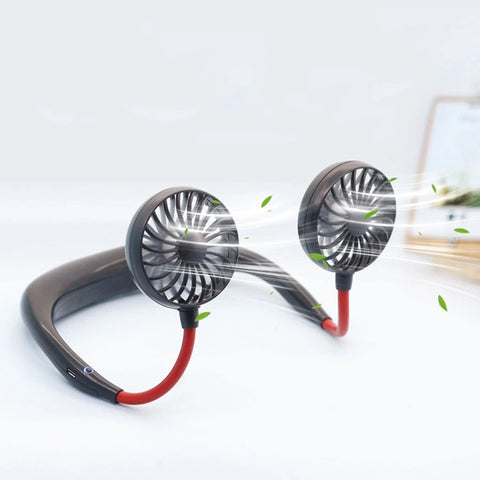 Hands-free Neck Fan at GirlyCode.com