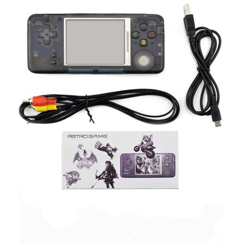 Retro Handheld Game Console - 30% Off Today + Free Shipping No Tf Card