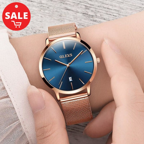 Ultra Thin Ladies Luxury Watch