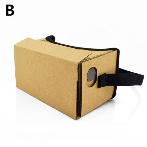 Virtual Reality Cardboard Glasses - B