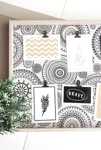 MANDALA PHOTO BOARD