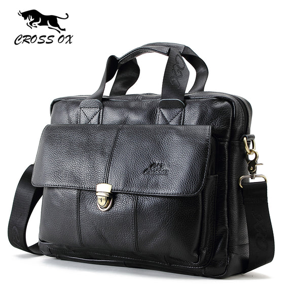 CROSS OX Genuine Brand Men's Casual Travel Bags - Trendy Him
