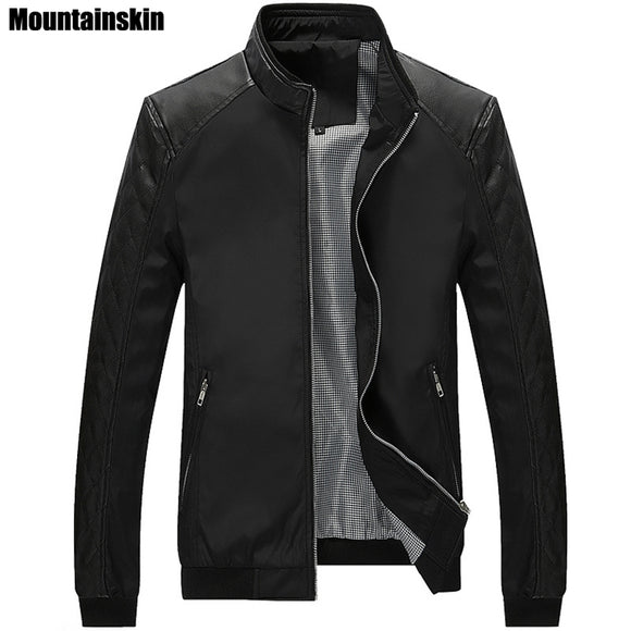 Mountainskin Men Casual Slim Coat - Trendy Him