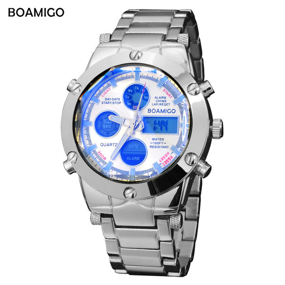 luxury brand BOAMIGO Men Sports Watch - Trendy Him