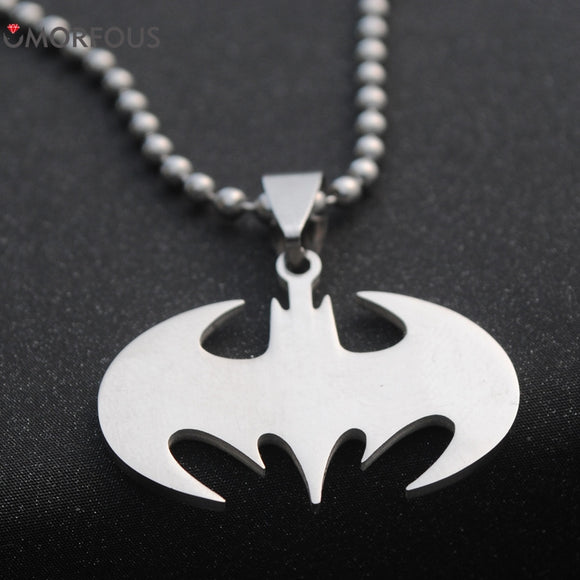 10PCS/Lot Steel Necklace Superheroes batman necklace - Trendy Him
