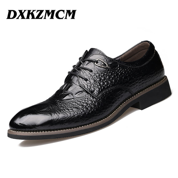 DXKZMCM Handmade High Quality Men's Shoes - Trendy Him