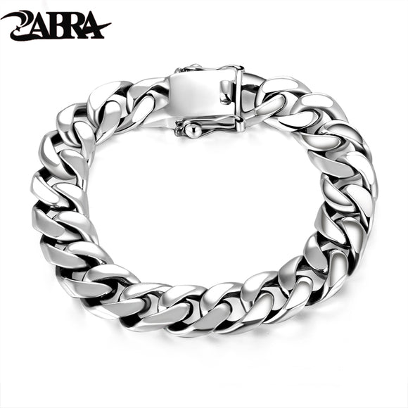 ZABRA Luxury 925 Sterling Silver Bracelets - Trendy Him