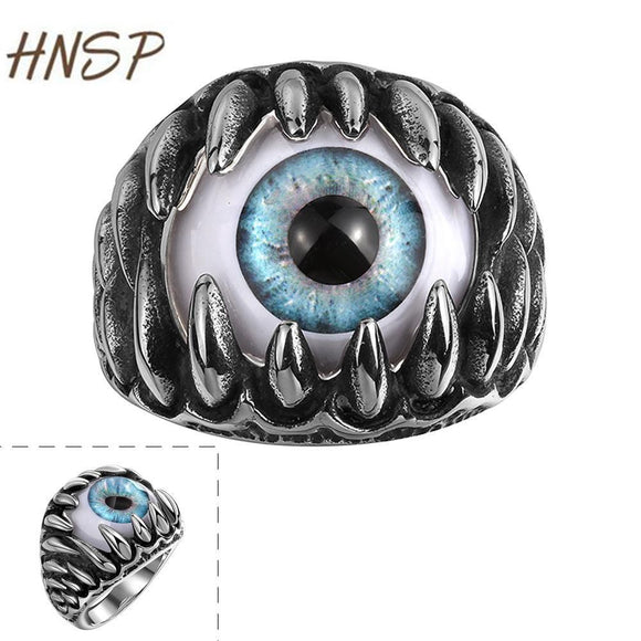 HNSP High Quality Zinc Alloy Punk style Male Rings - Trendy Him