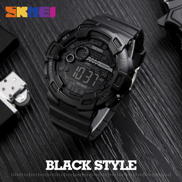 SKMEI Men Digital Wristwatch - Trendy Him