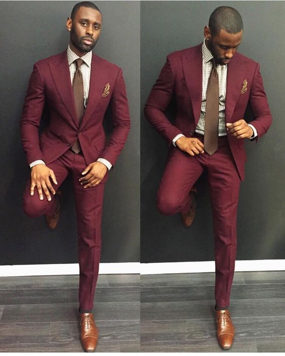 Men  high quality Suits - Trendy Him