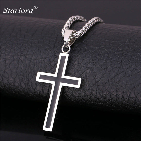 Starlord Cross Necklace & Pendant Christian Men's Necklace - Trendy Him