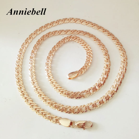 Anniebell New Trendy Rose Gold Men's Necklace - Trendy Him