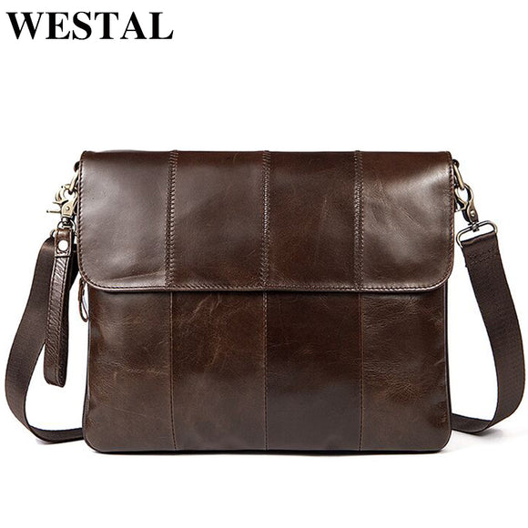 WESTAL Genuine Brand Leather Bags - Trendy Him