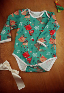 Bodysuit, long sleeved - Rudolph