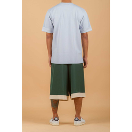 TA x DY Contrast Panel Wide Pants