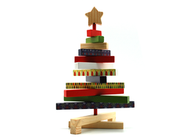 Wooden Bars X'mas Tree (Small)