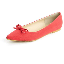 Pointed Ribbon Flats