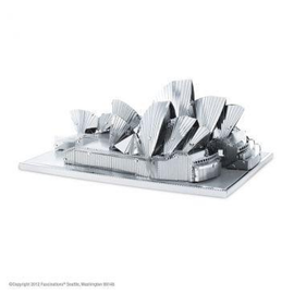 MetalEarth Silver Series - Sydney Opera House