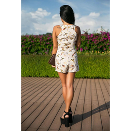 Abby Playsuit in Free Swallow Prints