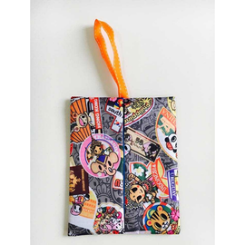 Tokidoki Grey Kleenex Travel Tissue Holder