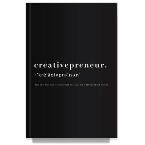 Creativepreneur Black Notebook