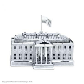 MetalEarth Silver Series - The White House
