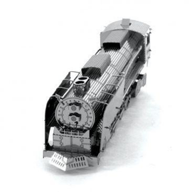 MetalEarth Silver Series - Steam Locomotive