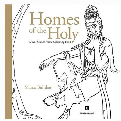 Tear-Out & Frame Colouring Book: Homes of the Holy by Marco Buinhas